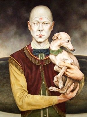 Circus Self-Portrait by Jared Joslin