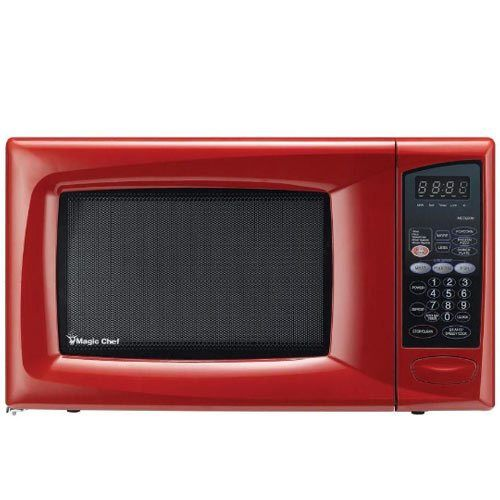 Magic Chef Red Microwave Oven Countertop Microwave Magic Chef