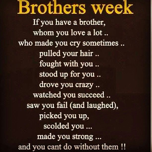 Pin By Sandy Natoli On Little Sweet Things Brother Quotes I Love My Brother Sibling Quotes