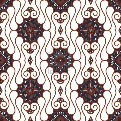 seamless javanese batik pattern batik pattern batik art batik pinterest