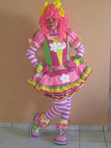 Bombonita Pr Clown Ideas For Sprinkles Maquillaje De