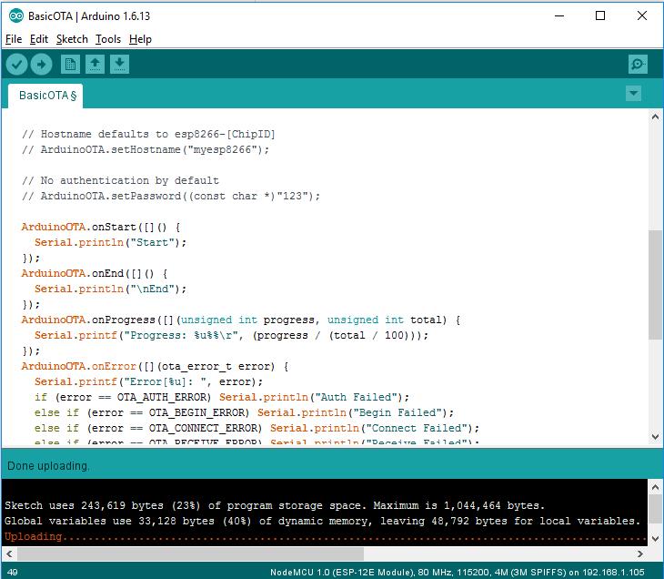 ESP8266 OTA with Arduino IDE | Random Nerd Tutorials | ESP32