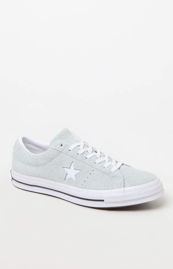 dd07f8892f48 Keep your style laidback and classic with the Converse One Star Suede Low  Top Shoes.