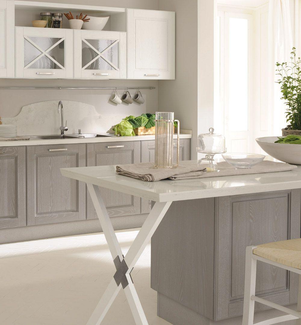 Agnese - Классические кухни - Cucine Lube | Белые кухни | Pinterest ...