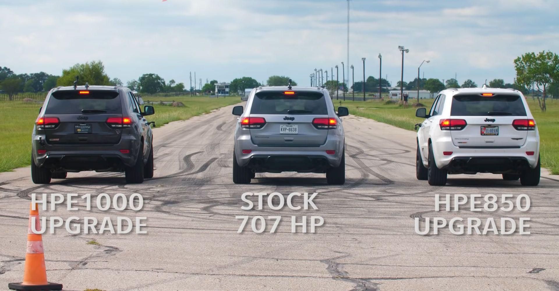 Video Zoveel Verschil Maakt 300 Pk Extra In Een Jeep Grand