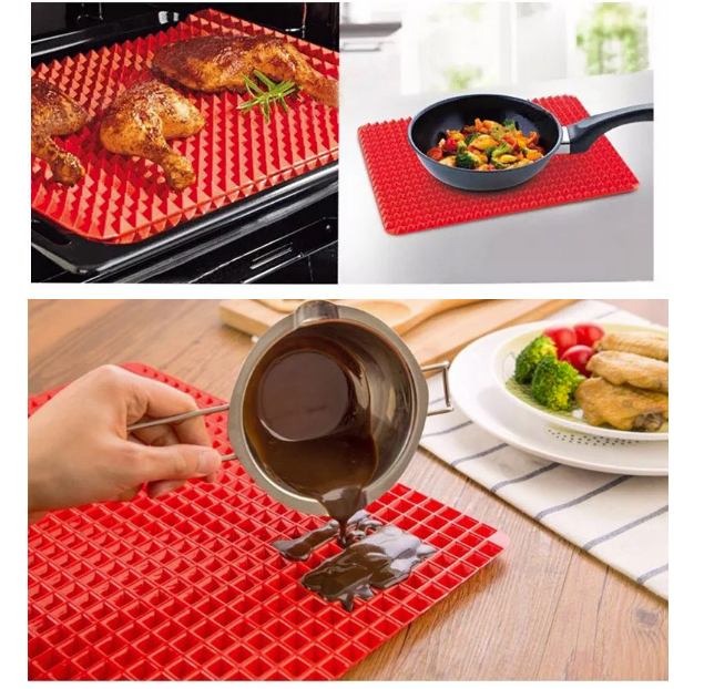 Silicone Mat Pyramid Silicone Mat Cool Kitchen Gadgets Cooking