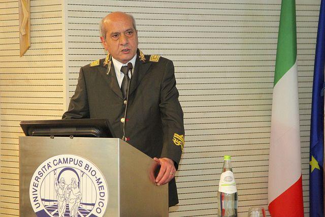 Il Ministro dell'Interno, On. Angelino Alfano, ha fatto visita alle strutture dell'Università Campus Bio-Medico di Roma