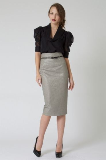 high waist pencil skirt dress | Stylish Dress - Sparkle ...