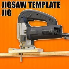 Photo of Jigsaw Template Jig: How to Make Duplicate & Repeatable Cuts with a Jigsaw. #woo…