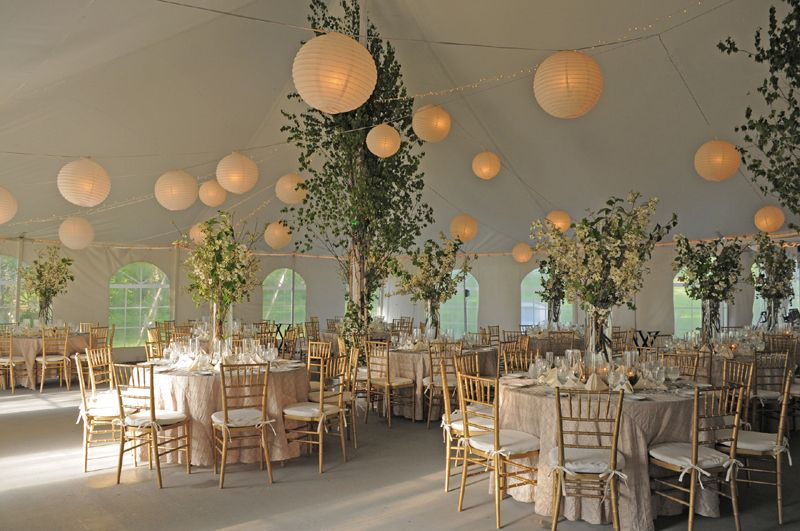 Outdoor Tent Wedding Reception Ideas | Rustic Wedding Tent Ideas