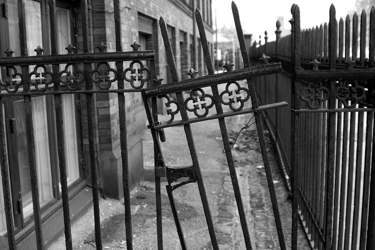 Broken gate Wrought, Wrought iron, New homes