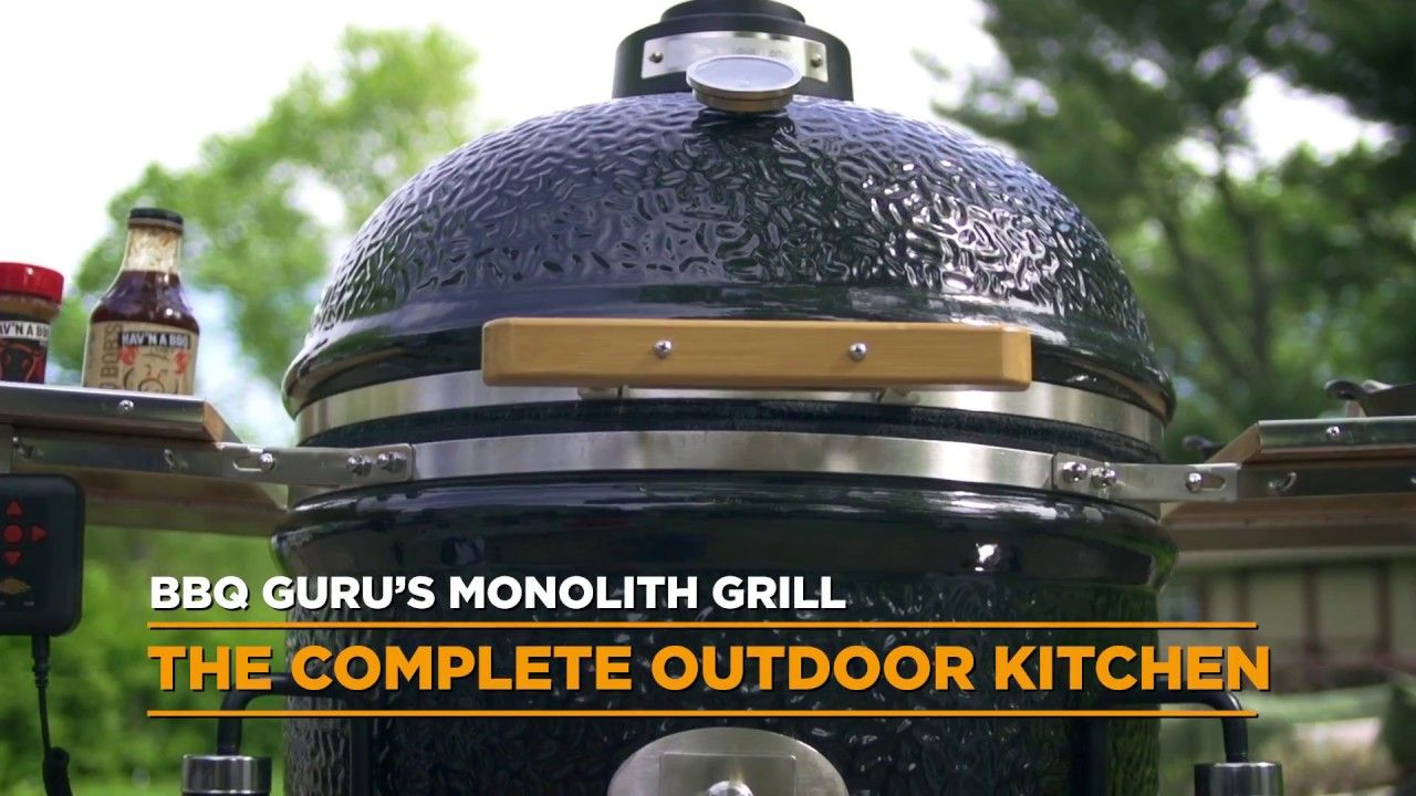 Bbq Guru Party Q Monolith Grills Cooking Configurations Possibilities Are Endless