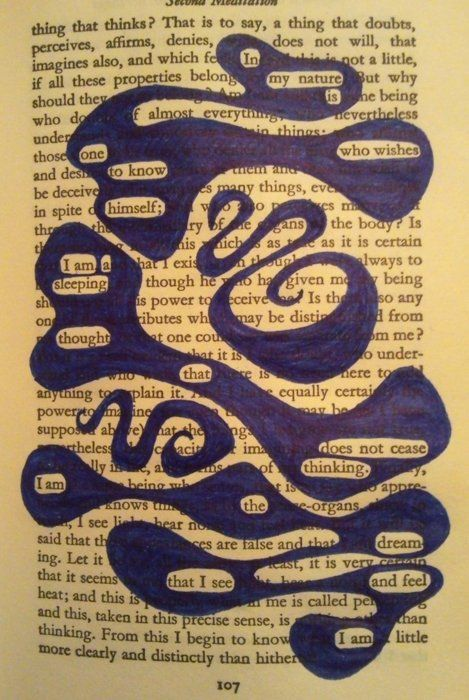 """""""Black Out Poetry"""" using old newspapers or books. To Kill A Mockingbird found poetry... the kids are gonna love me!"""