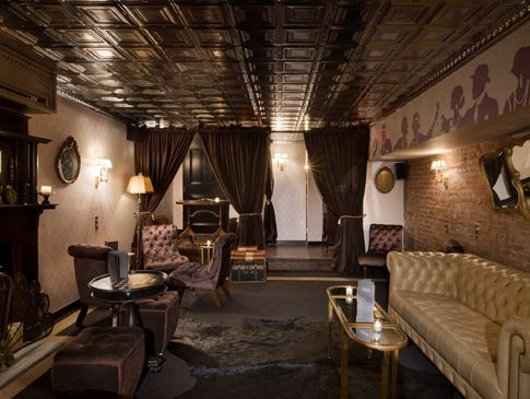 Raines Law Room 48 W 17th St Nr Fifth Ave This Speakeasy In Chelsea Is Named For An 1896 Law Meant To Curb N Speakeasy Decor Speakeasy Best Bars In Nyc