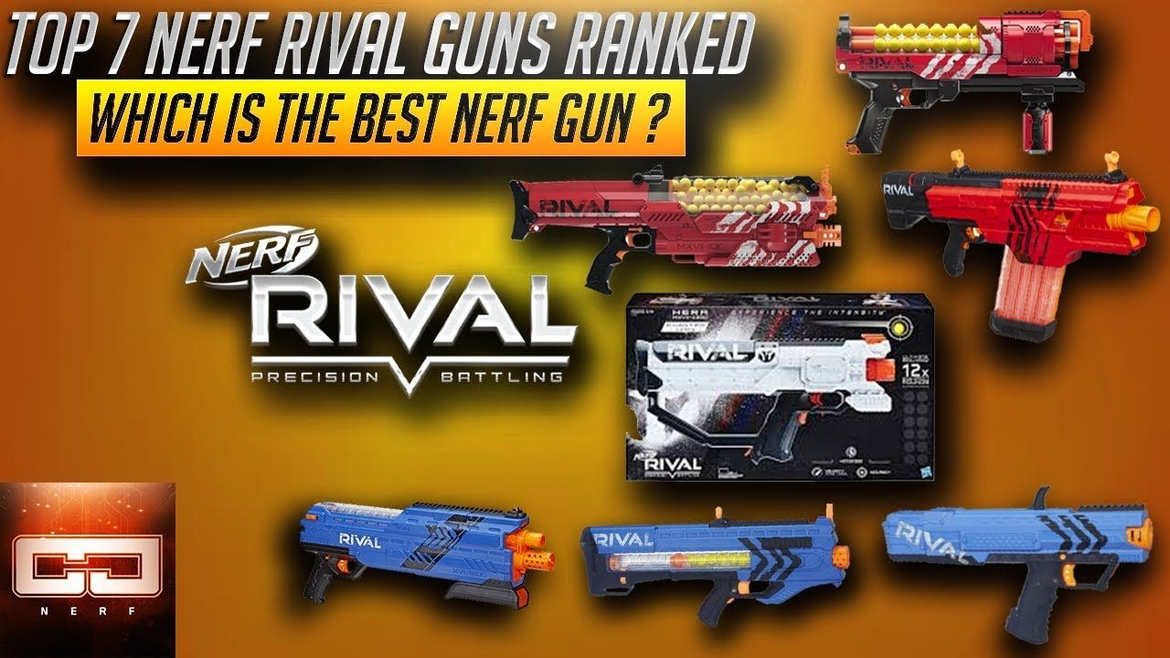 Top 7 Nerf Rival Guns Ranked Which is The Best Nerf Gun ? is the focus of  today's Toy Guns Video here on the Cj Nerf channel.