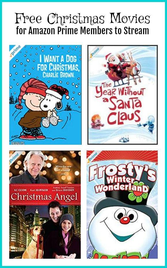 free christmas movies to stream for amazon prime members pinterest free christmas movies - Christmas Movies On Amazon Prime