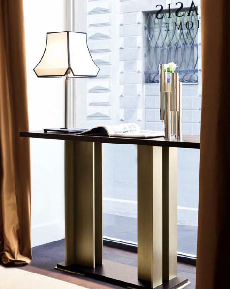 Hana console for oasis group cloche table lamp for for Interior design italiani