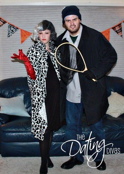 couples halloween costume ideas - Cruella Deville Halloween Costume Ideas