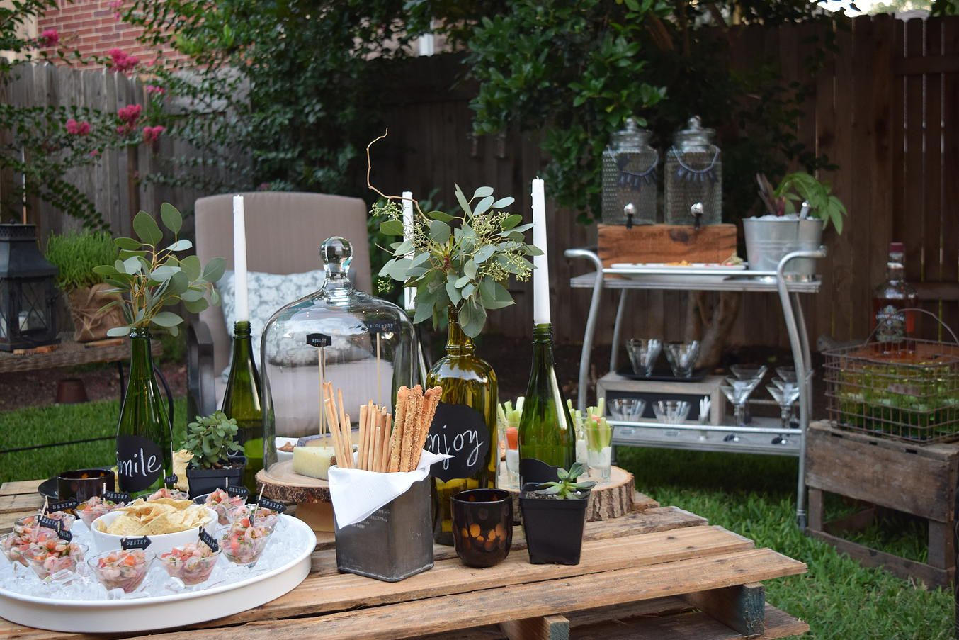 kitsch event styling austin texas backyard celebration outdoor