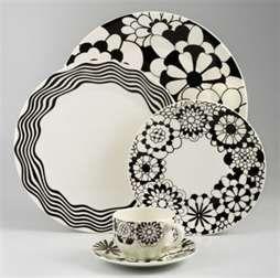 Daily Olive Black \u0026 White Missoni Dinnerware & Daily Olive: Black \u0026 White Missoni Dinnerware | APPETIZERSBREAKFAST ...
