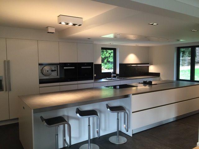 SieMatic@Bruxelles Beersel S2 Pure blanc lotus     SieMatic kitchens ...