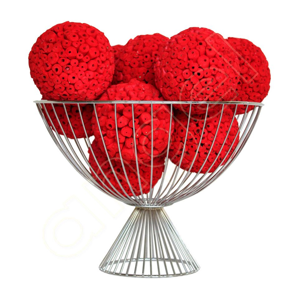 Red Decorative Balls Red Large Decorative Ball I Beautiful In A Bowl Or Platter I Http