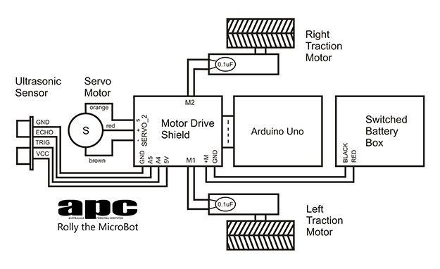 Rolly s block diagram arduino pinterest