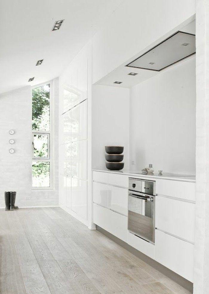 Le Parquet Clair Cest Le Nouveau Hit Dintérieur Pour - Meuble cuisine 60x60 pour idees de deco de cuisine