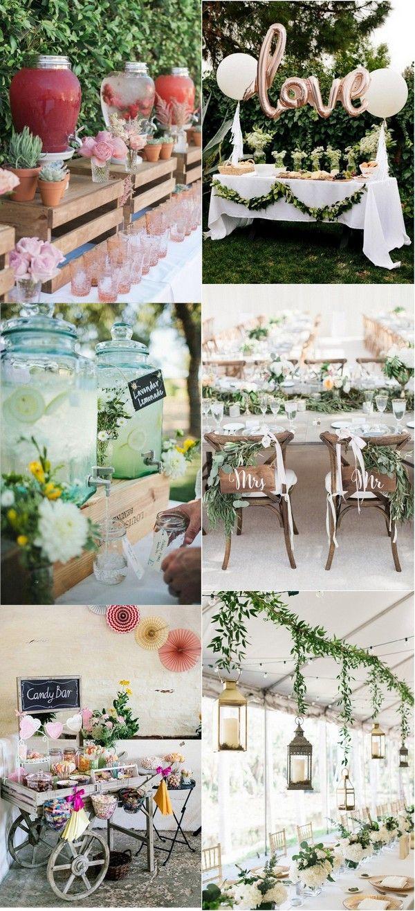Wedding room decoration ideas 2018   Brilliant Garden Wedding Decoration Ideas for  Trends  Page