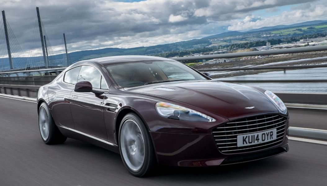 Aston Martin Rapide S From The Enterprise Rent A Car Exotic Car