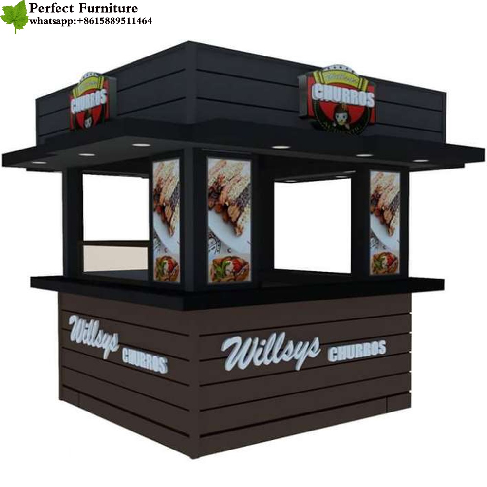 delicate newest outdoor mobile fast food pizza kiosk with