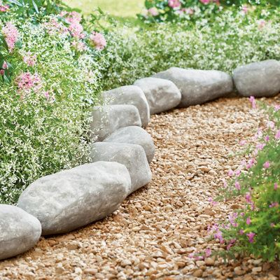 Faux Roche Lawn Edging | Grandin Road