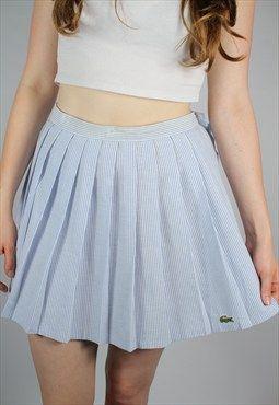 Vintage Lacoste Tennis Skirt Tennis Fashion Vintage Preppy Style Spring Preppy Style Summer
