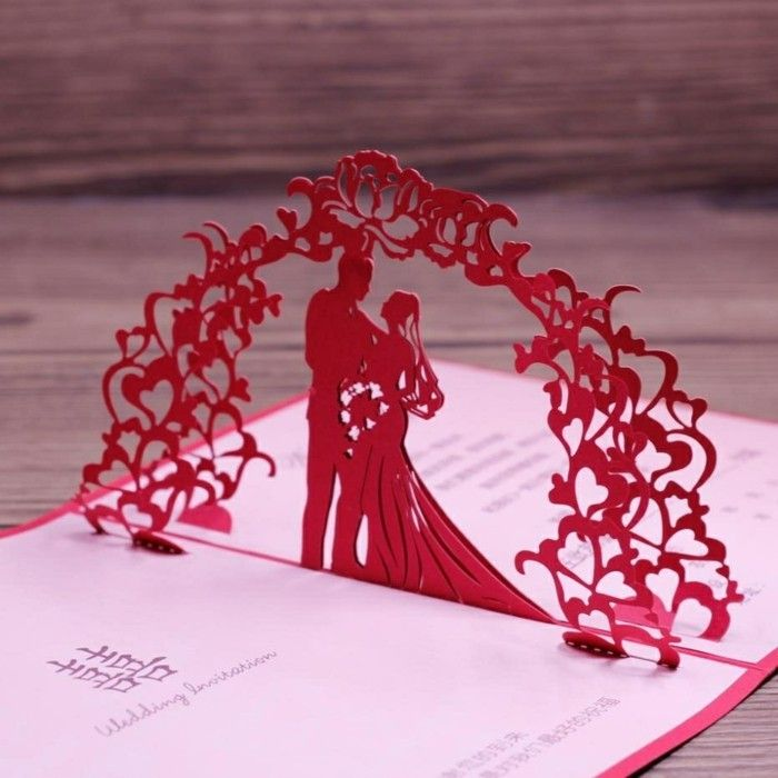 Invitation cards to the wedding invitations themselves make ...