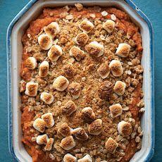 Sweet Potato Casserole With Pecan Crumble Recipe