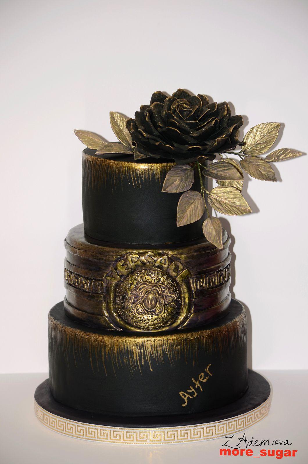 Versace Cake Beautiful Cakes Birthday Cake Cupcake