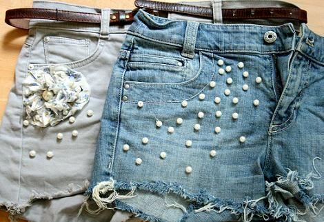 Pin By Bianka Forest On Reciclando Ropa Fashion Diy Shorts Diy Clothes