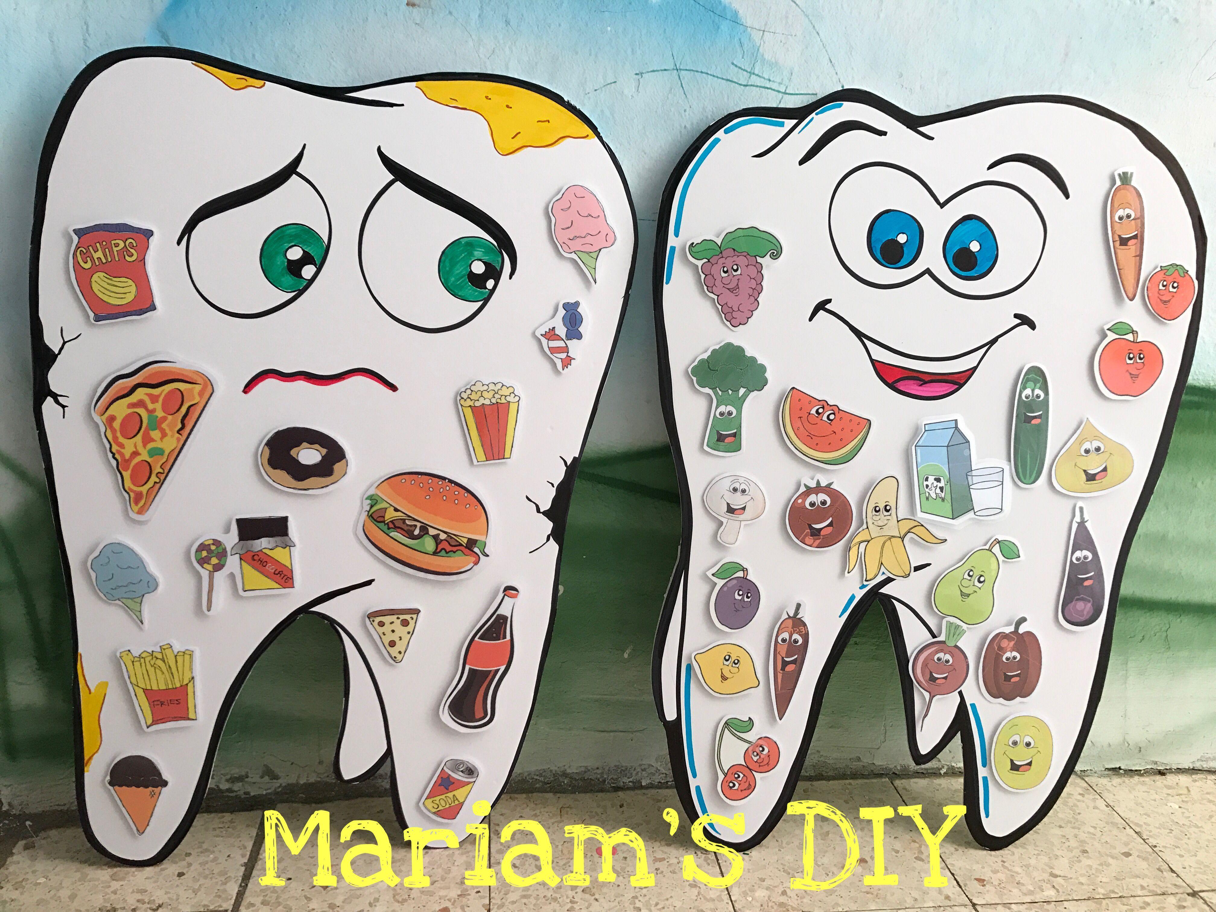 Healthy Unhealthy And Dental Food