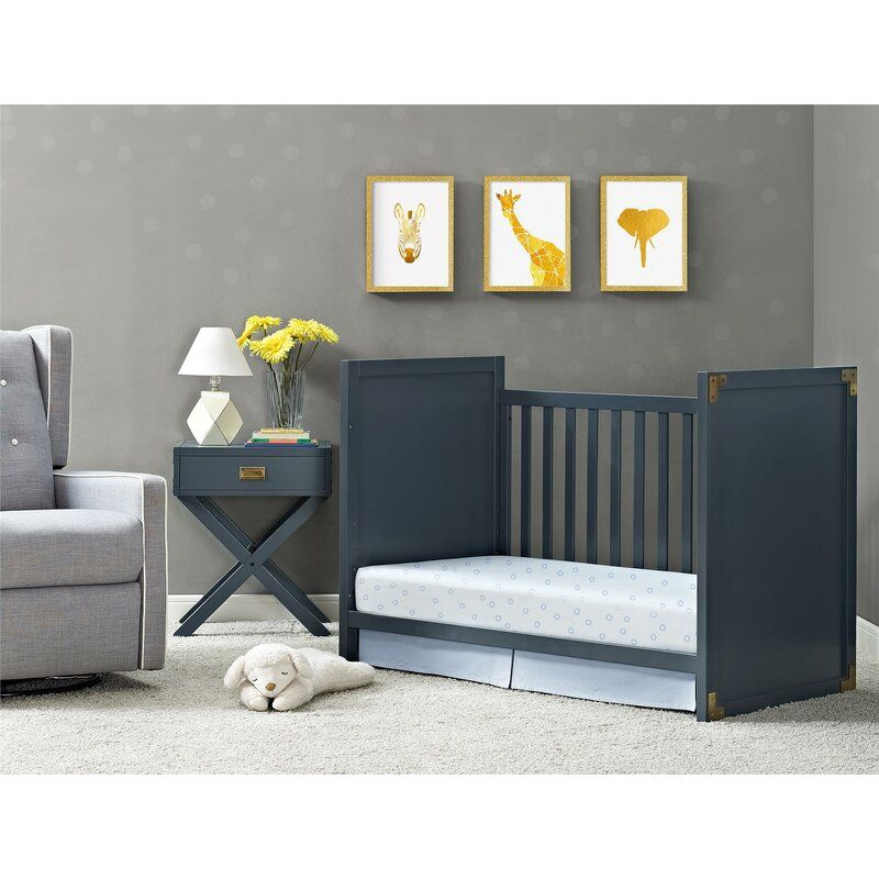 Wilmslow 2 In 1 Convertible Crib Reviews Birch Lane In 2020 Cribs Convertible Crib Blue Crib