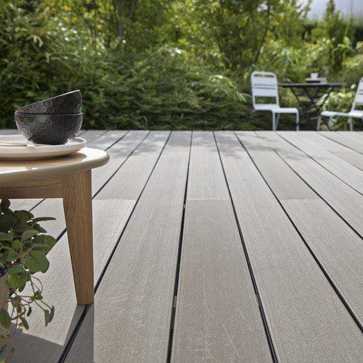 Kit Terrasse Composite Saga Naterial Gris 15 M Terrasse Jardin Terrasse Composite Terrasse