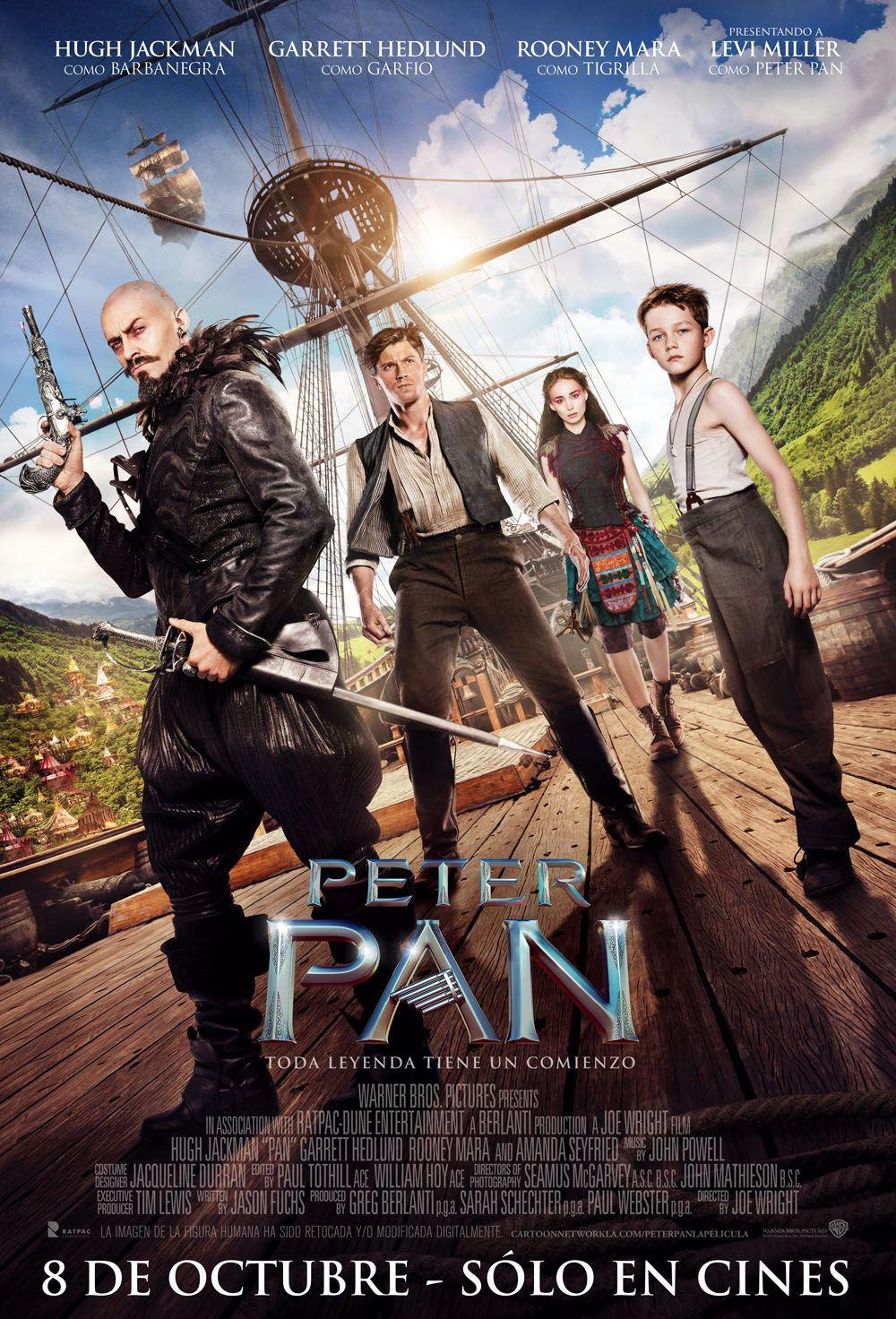 Peter Pan Manfer Films 8 De Octubre Carteleras De Cine Pelicula De Peter Pan Peliculas Cine