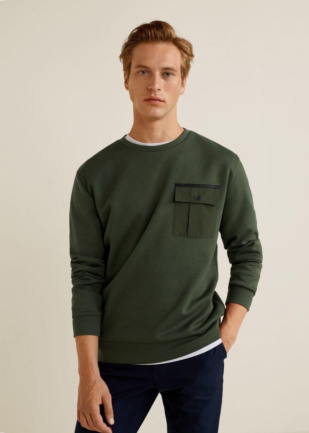 327cd297c29f Cepli koton sweatshirt - Erkek