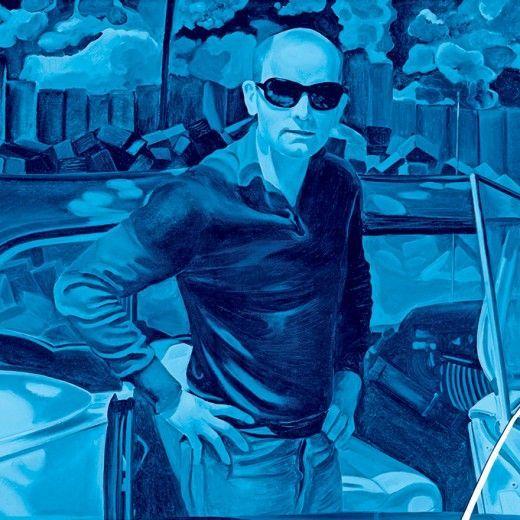Jacques Monory - For all that we see or seem, is a dream within a dream, 1967 © Jacques Monory © Adagp, Paris, 2014 © Collection [mac] musée d'art contemporain de Marseille, photo Ceter, ville de Marseille © Fonds Hélène & Édouard Leclerc pour la Culture Première retrospective