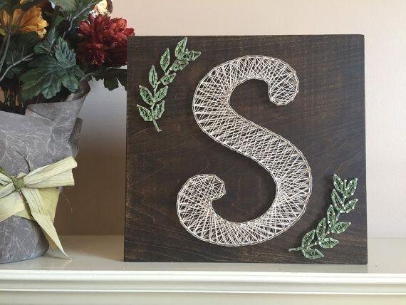 Afbeeldingsresultaat voor string art letters van s   To do ...