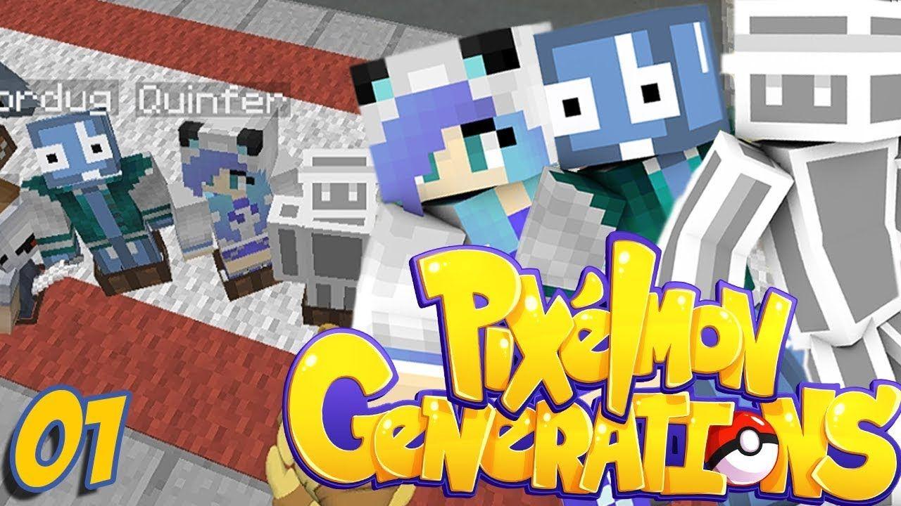 Una Nuova Generazione Pokemon Minecraft Ita Pixelmon Gx Pokemon Genere