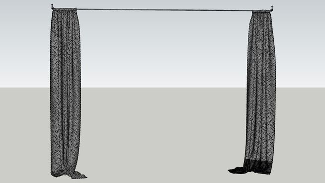 Curtain Curtains Sketchup Model Warehouse