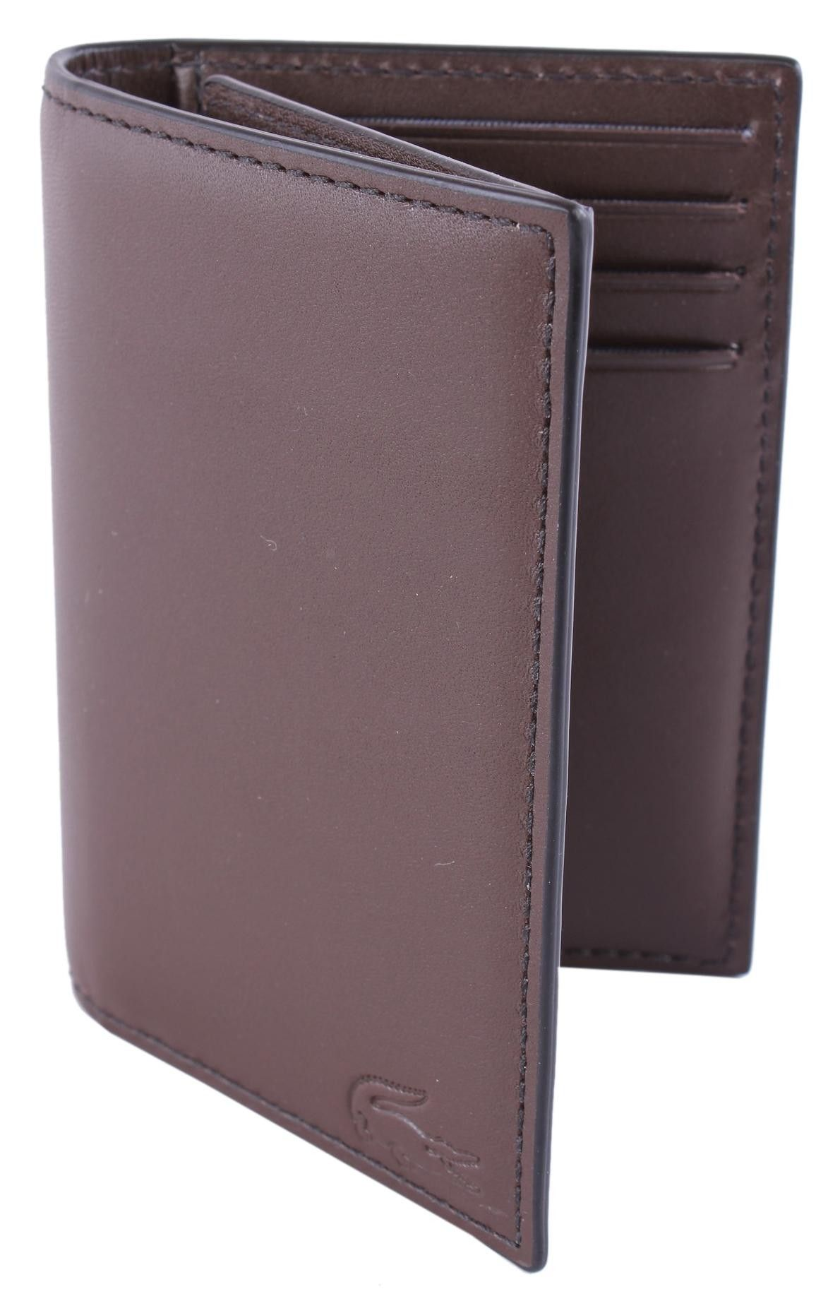 597ac9fca7d Lacoste Wallet - Brown Business Card Holder #Lacoste #Mens #Wallet ...