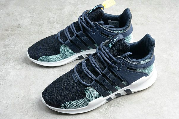 Cheap Priced Adidas EQT Racing Support ADV Parley Legend Ink Blue White  Cq0299 Shoe 804420b583