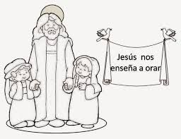 Resultado De Imagen Para Jesus Nos Ensena A Orar El Padre Nuestro Educacion Religiosa Catolica Educacion Religiosa Catequesis