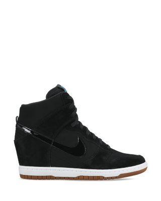 half off 64093 b5b74 Nike Women s Dunk Sky Hi Essential Wedge Sneakers . I know this type are no  longer trendy but i like them trends mine nada to me